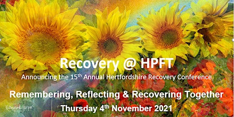 Recovery Event for Mental Health and Learning `Disability - Herts & Beyond tickets