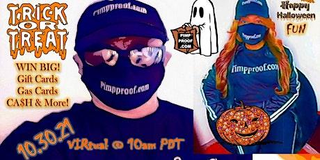 Pimp Proof Virtual Halloween FREE DRAWING Tickets