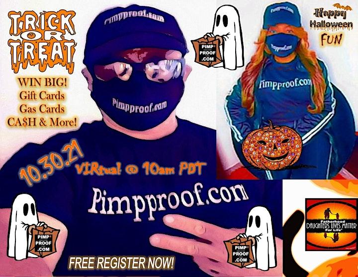 Pimp Proof Virtual Halloween FREE DRAWING image