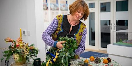 Christmas Wreath Making at Claverham Village Hall tickets