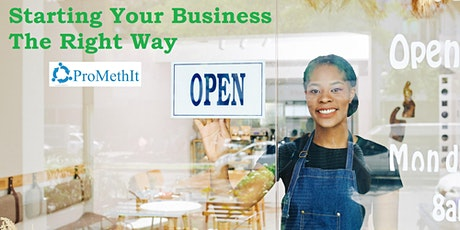 Starting Your Business The Right Way tickets