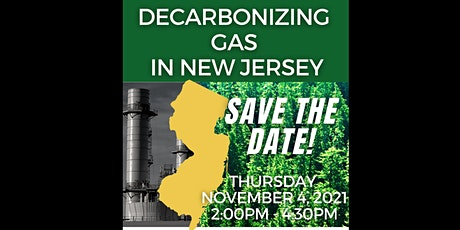 Decarbonizing Gas in New Jersey: An NJ Clean Cities & Energy Vision Webinar biglietti
