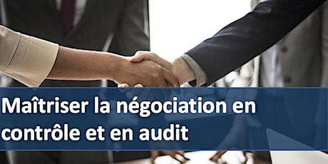 """Formation """" Maîtriser la négociation en contrôle et en audit """" billets"""