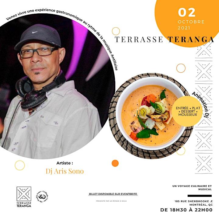 Image de Terrasse Teranga - Voyage culinaire et musical
