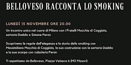 Belloveso racconta lo smoking biglietti