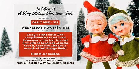 Very Vintage Christmas Sale - Early Bird Shopping (November 17 | 6-8pm) tickets