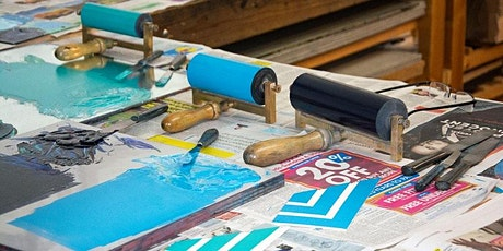 Printmaking workshops - Monotype additive and subtractive processes tickets