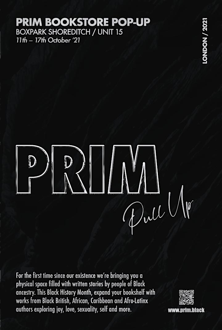 PRIM Pop-up Bookstore image
