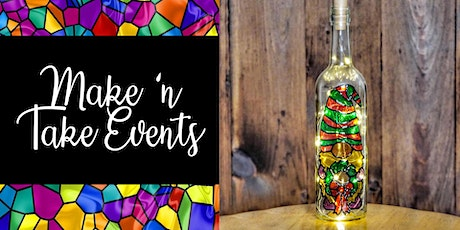 Stained Glass Bottle - Limited Edition Christmas Gnome tickets