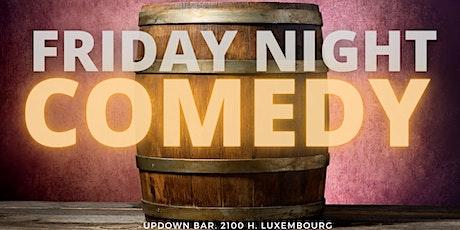 Friday Night Comedy billets