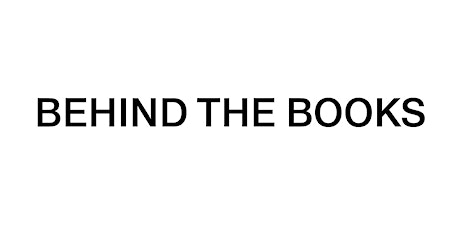 Behind the Books – Opening party tickets