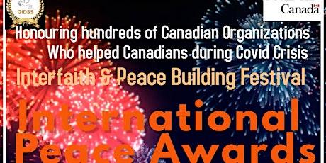 International Peace Awards 2020 tickets