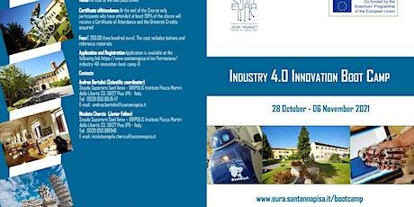 Industry 4.0 Innovation Boot Camp bilhetes