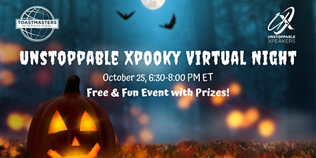 Unstoppable Xpooky Virtual Night tickets
