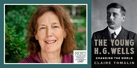 P&P Live! Claire Tomalin | THE YOUNG H.G. WELLS - with Benjamin Moser tickets