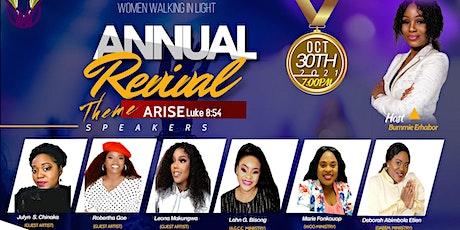 ARISE Revival boletos