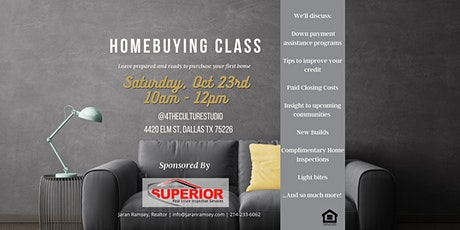 Free First Time Homebuyer Class tickets