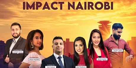 IMPACT NAIROBI- BELIEVE BIG KENYA TOUR tickets