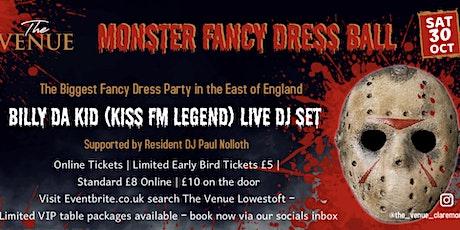 Monster Fancy Dress Ball feat Kiss Legend Billy Da Kid tickets