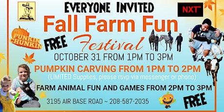 Fall Farm Fun Festival tickets