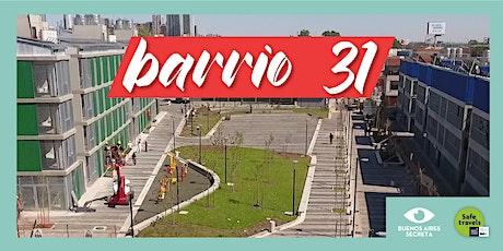 Visita Guiada | Barrio 31 | 24/10   11.30 hs entradas