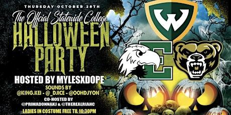 WSU vs EMU Halloween Party  (#LifeLifeLitTOUR 3) tickets