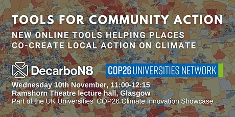 New online tools helping places co-create local action on climate tickets