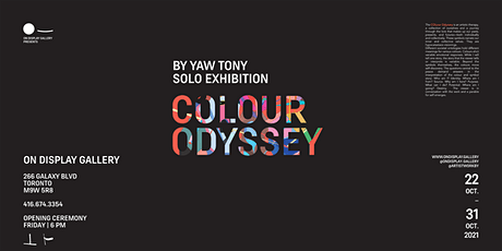 Colour Odyssey By Yaw Tony Solo Exhibition tickets
