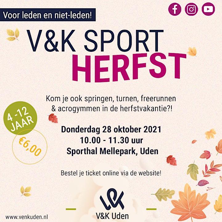 Afbeelding van V&K Sport Herfst!