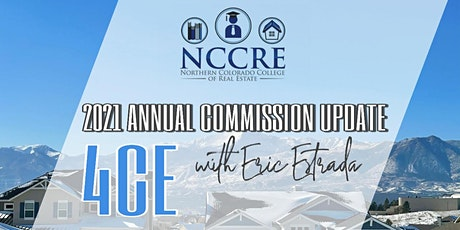 2021 COLORADO ANNUAL COMMISSION UPDATE WITH 4CE tickets