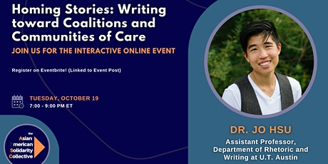 Homing Stories: Writing toward Coalitions and Communities of Care - Dr. Hsu tickets