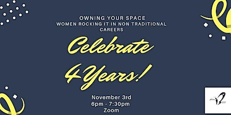 Women in Business Supper Club ~ 4 year Anniversary ~ Owning Your Space tickets