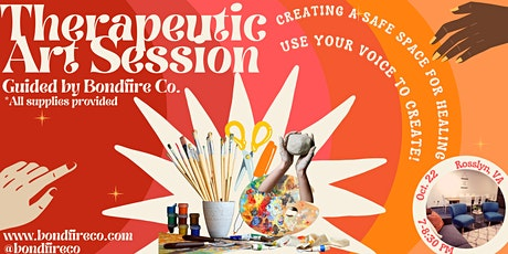 Therapeutic Art Session tickets