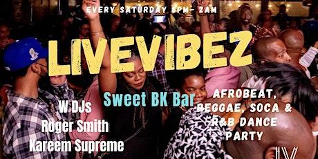 Livevibez at Sweet Brooklyn Bar tickets