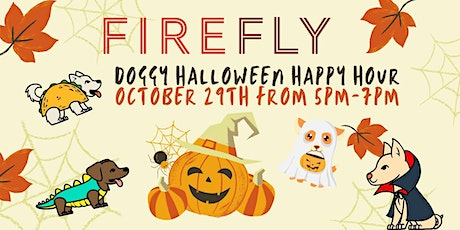 DOGGY HALLOWEEN HAPPY HOUR October 29th from 5pm-7pm tickets