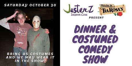 JesterZ Improv: A Costumed Comedy Show & Dinner tickets