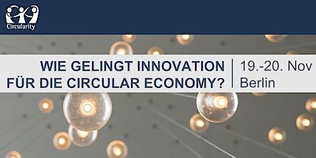 Circularity Jahreskonferenz: Innovating for a Circular Economy tickets