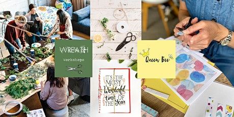 Orchard's  Handmade Christmas Card & Festive Wreath Workshops. tickets