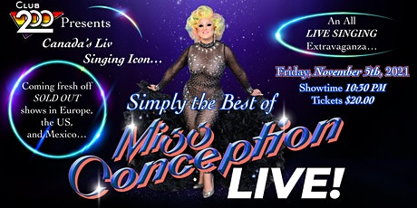 Simply the Best Of Miss Conception tickets
