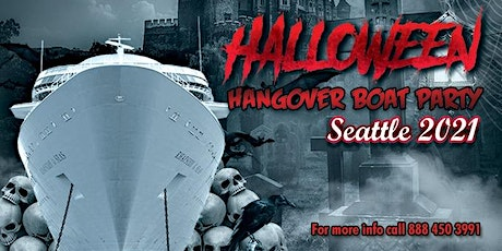 Halloween Hangover Boat Party Seattle 2021 tickets