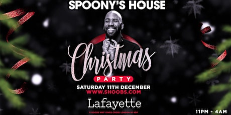 Spoony's House Christmas Party tickets