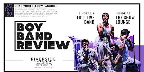 Boy Band Review LIVE at Riverside Casino & Golf Resort (Riverside, IA) tickets
