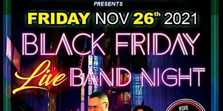 Black Friday  Live Band Night @ Michella's -ft Fred Cantu Latin Orquesta tickets