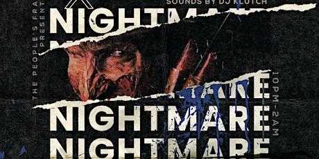 THE PEOPLES FRAT Presents: Nightmare on BLU Street tickets