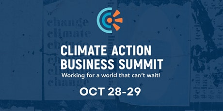 CT Climate Action Business Summit - Virtual Summit on 10/29 tickets