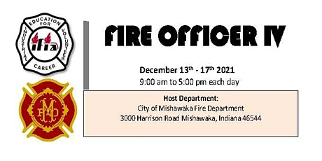 Fire Officer IV Course tickets