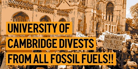 Climate Justice and Cambridge University tickets