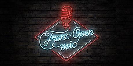 Soirée Franc'Open Mic 28 octobre 2021 tickets