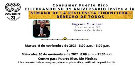 Semana de la Resiliencia Financiera. Derecho de todos... tickets