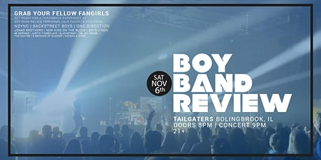 Boy Band Review LIVE at Tailgaters (Bolingbrook, IL) tickets